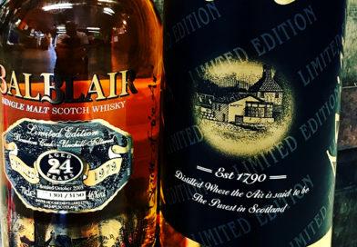 Tasting Balblair 24Y old vintage 1979 single malt whisky.