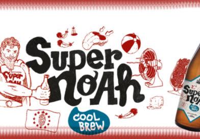 Tasting Super Noah Beer.