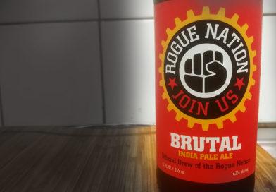 Tasting Rogue Nation Brutal India Pale Ale