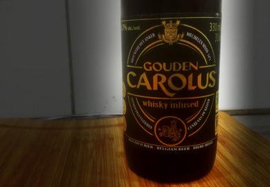 Tasting Gouden Carolus Whisky infused.